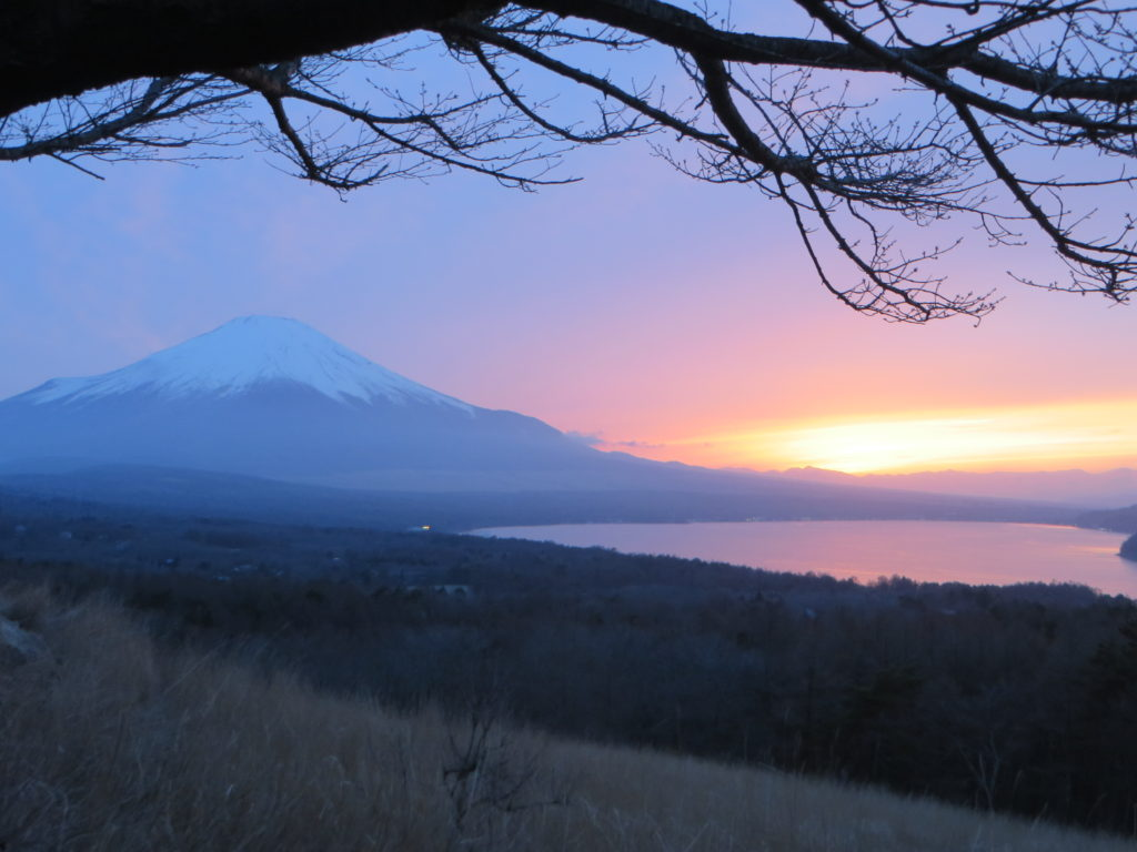 Mount Fuji from Yamanakako