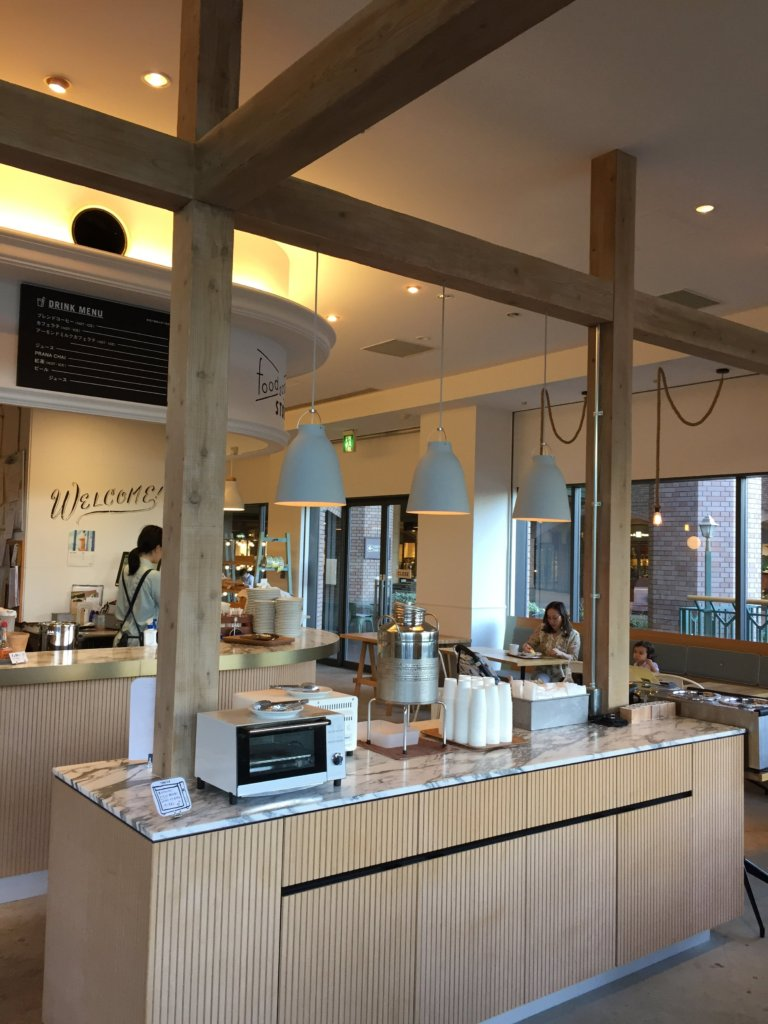 Inside Foodscape café and bakery