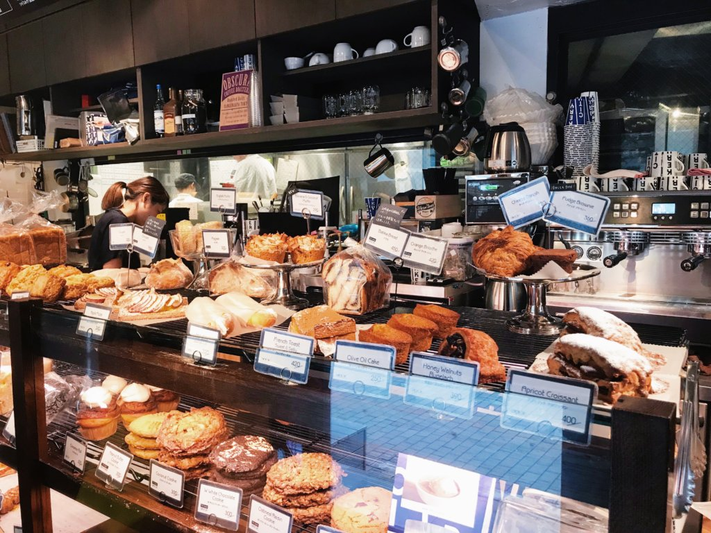 The greatest selection of all the pastries you've ever dreamed of.
