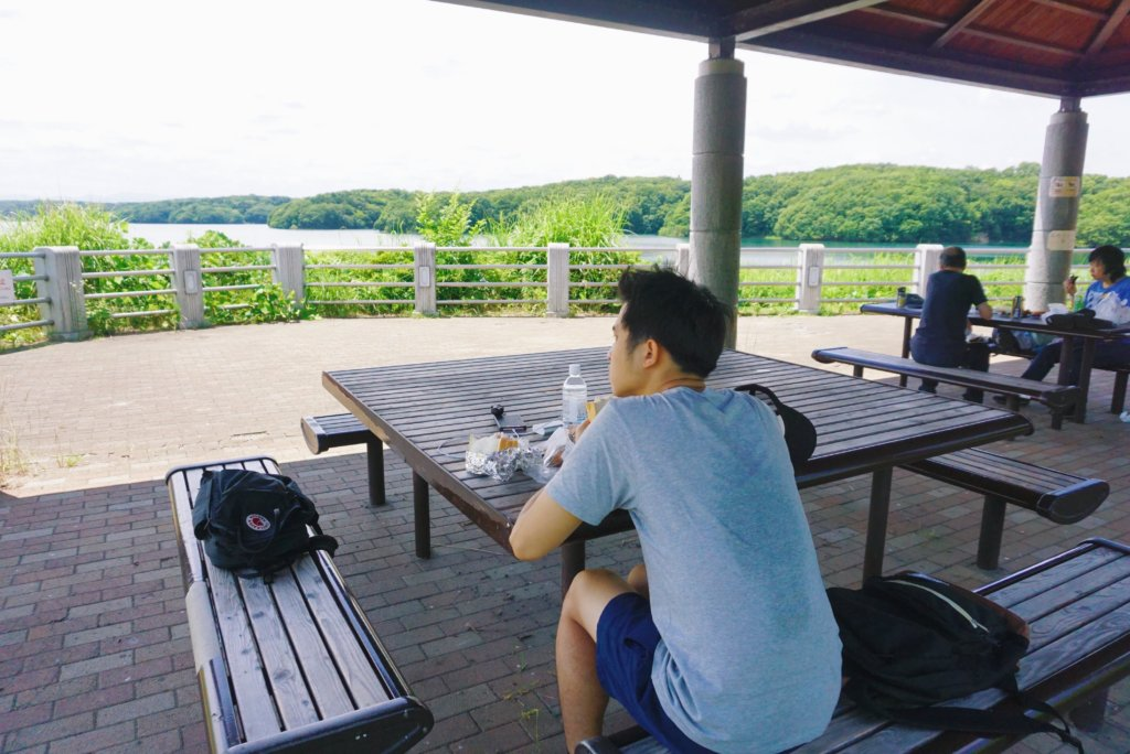 The picnic area where you can rest and have a relaxing lunch.