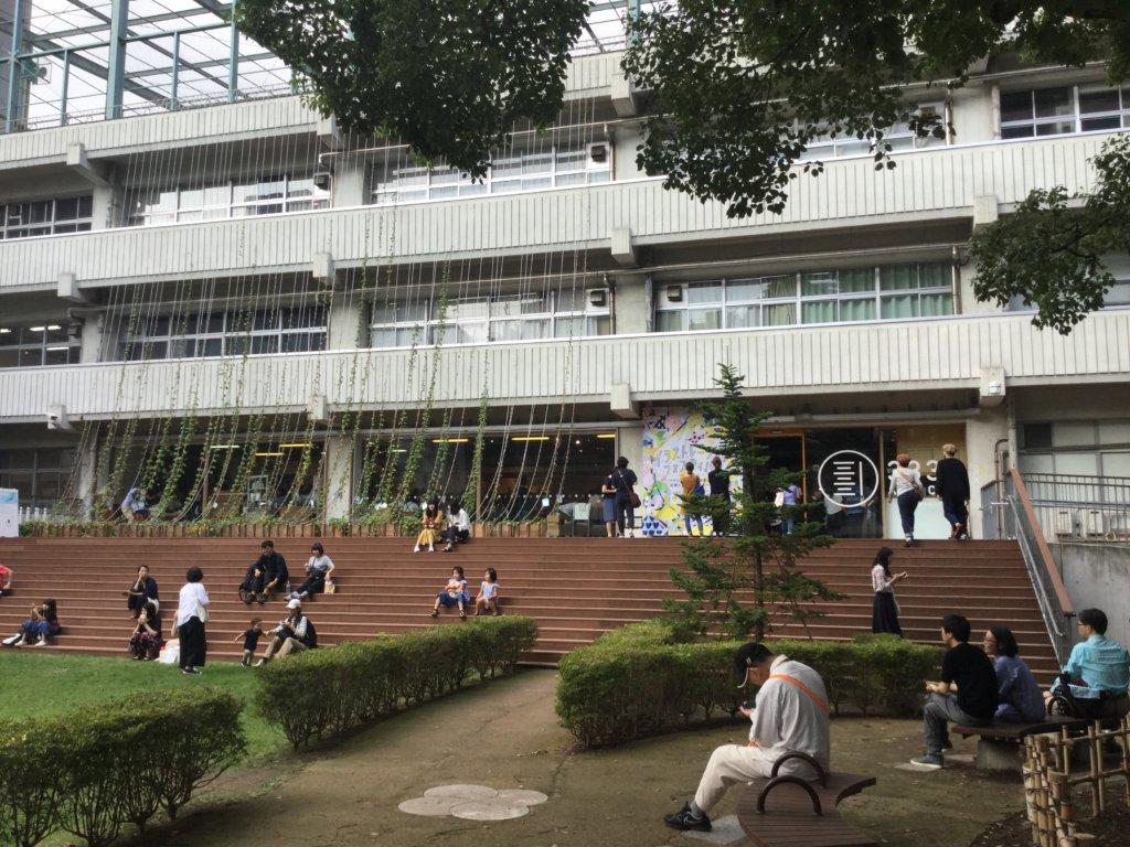 The former Rensei Junior High School