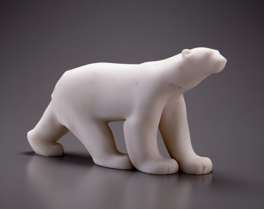 Polar Bear by François Pompon, 1923-33.