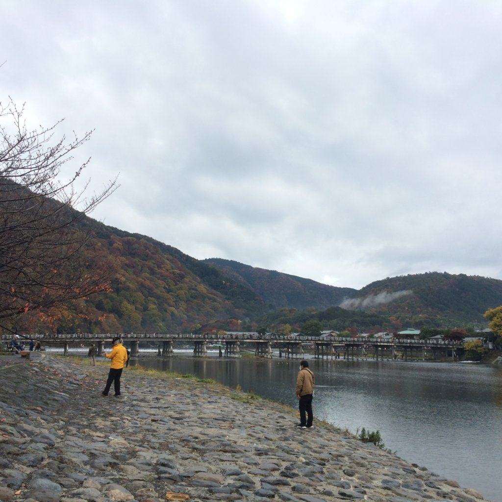 The iconic Togetsokyo bridge